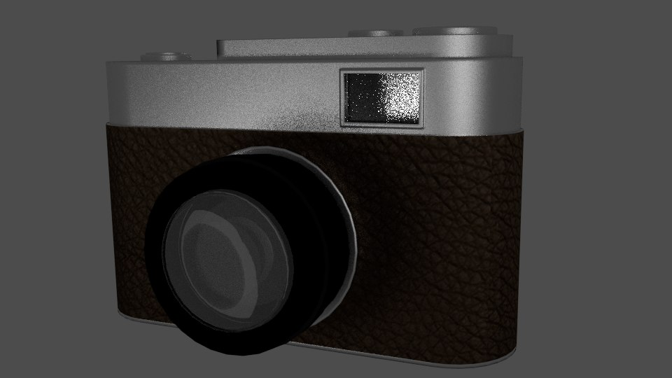 3d 35mm analog camera