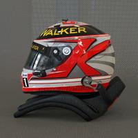 racing helmet kevin magnussen 3d 3ds