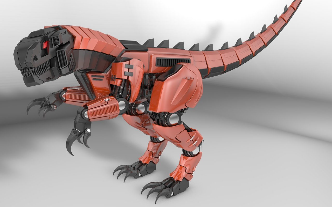 rigged animation modelled 3d model