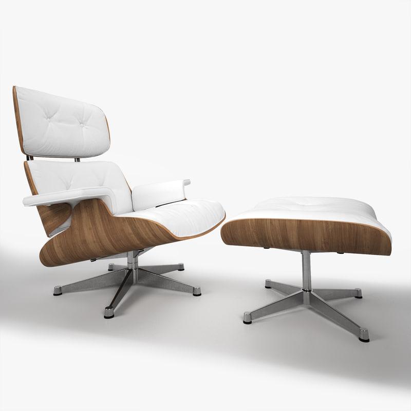3d model eames lounge chair 5