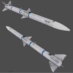 3ds max aim-120 missile amraam