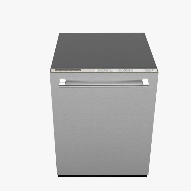 3dsmax dishwasher