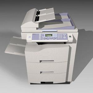 copy machine c4d