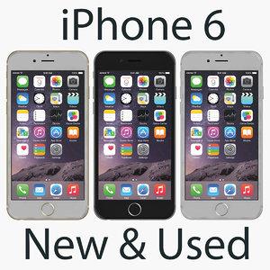 3ds max apple iphone 6