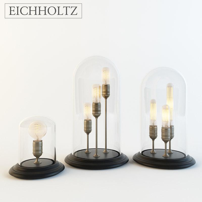 3d eichholtz lamp