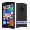 Nokia Lumia 830 3D models