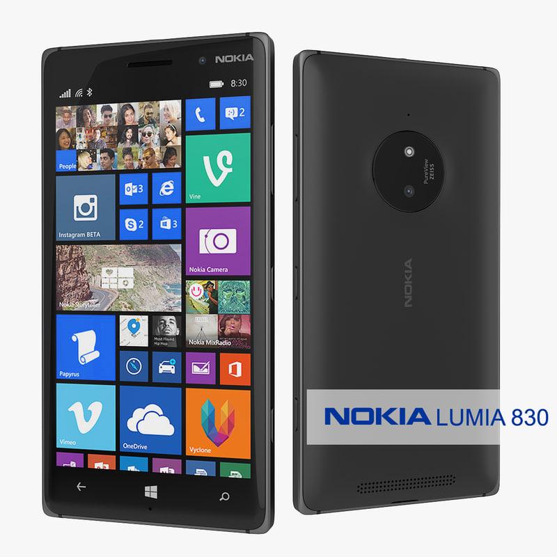 s nokia lumia 830