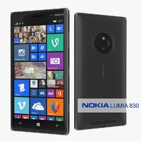 Nokia Lumia 830 Smartphone Black