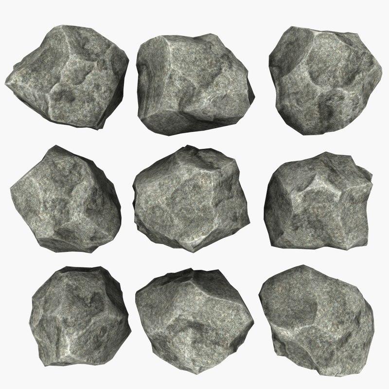 rock mht-05 3d max