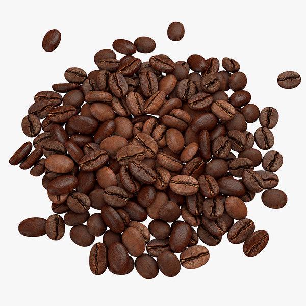 pile beans c4d