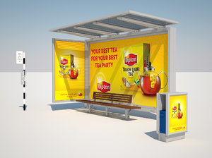 cinema4d dmc bus stop