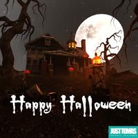 halloween justtomas 3d c4d