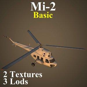mil 2 basic 3d max