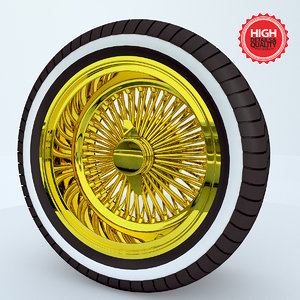 dayton wheel 3d model