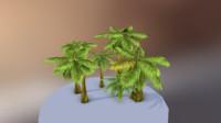 desert tree obj