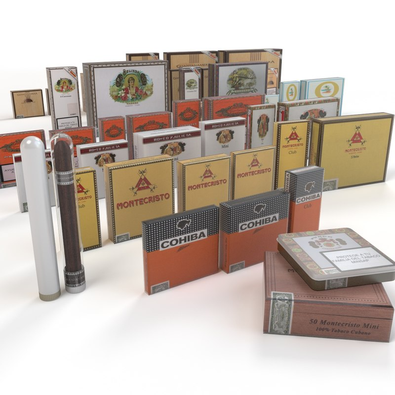 cuban tobacco 3d 3ds