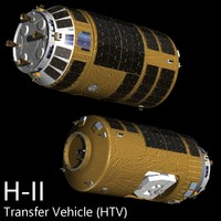 automated transfer vehicle 3d model