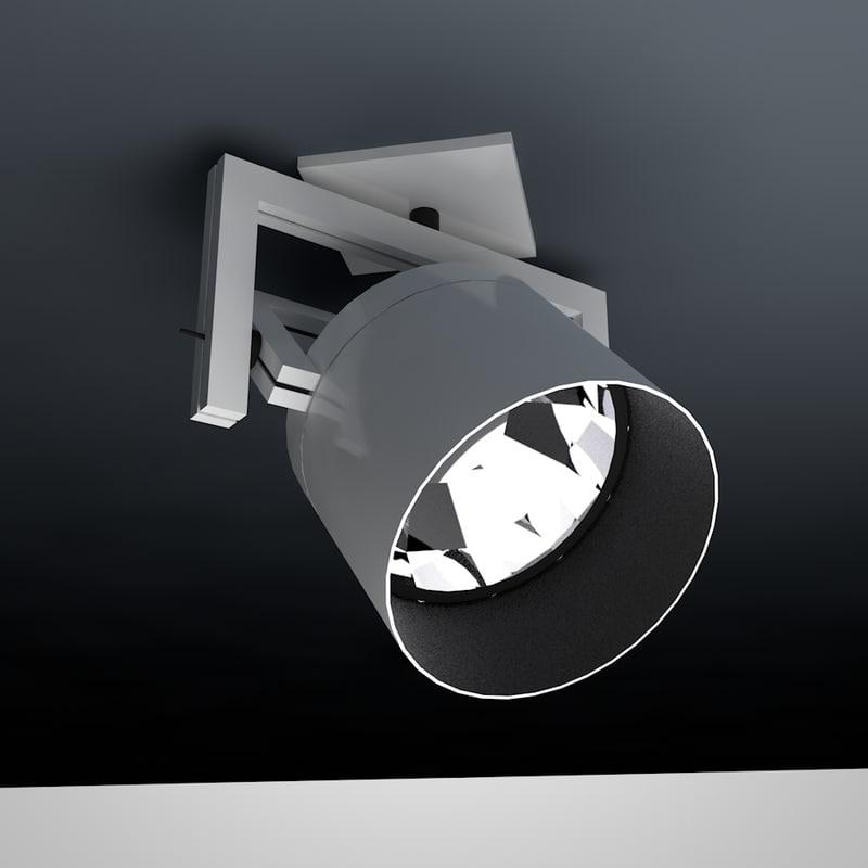cinema4d spot light rigged