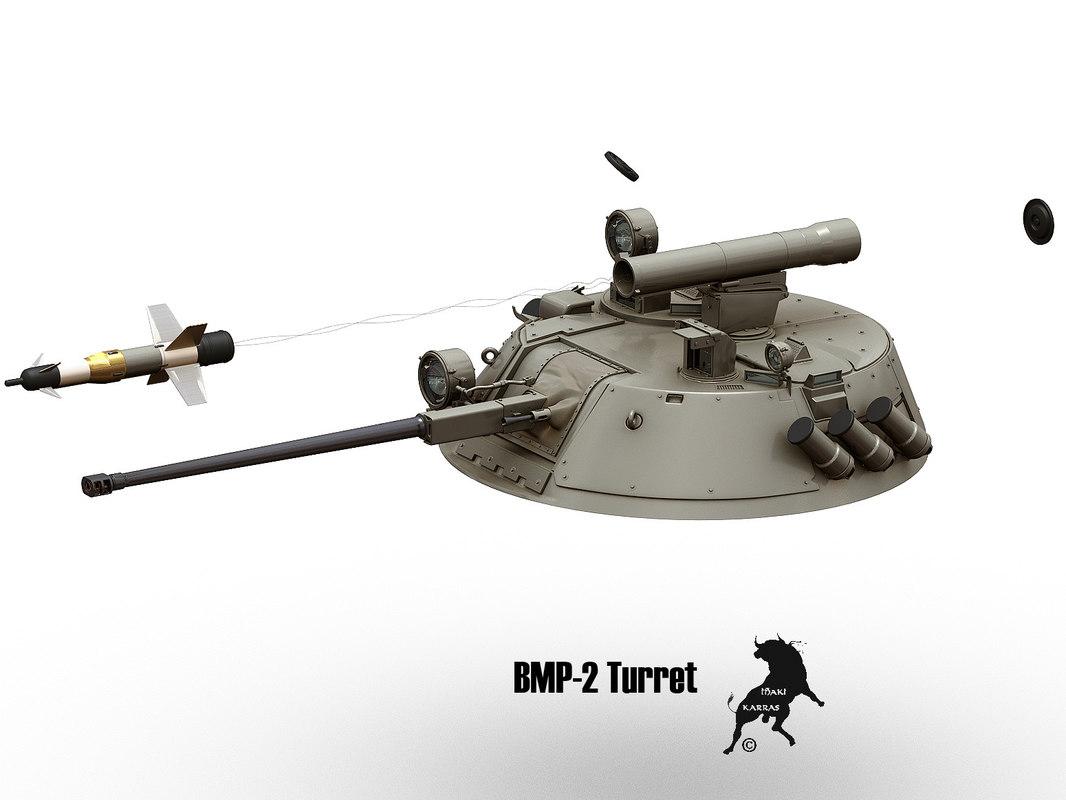 3d turret bmp-2