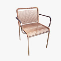 3d lapalma aria armchair model