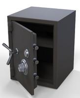 safe box 3d obj