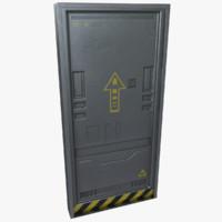 Sci-Fi Door 01