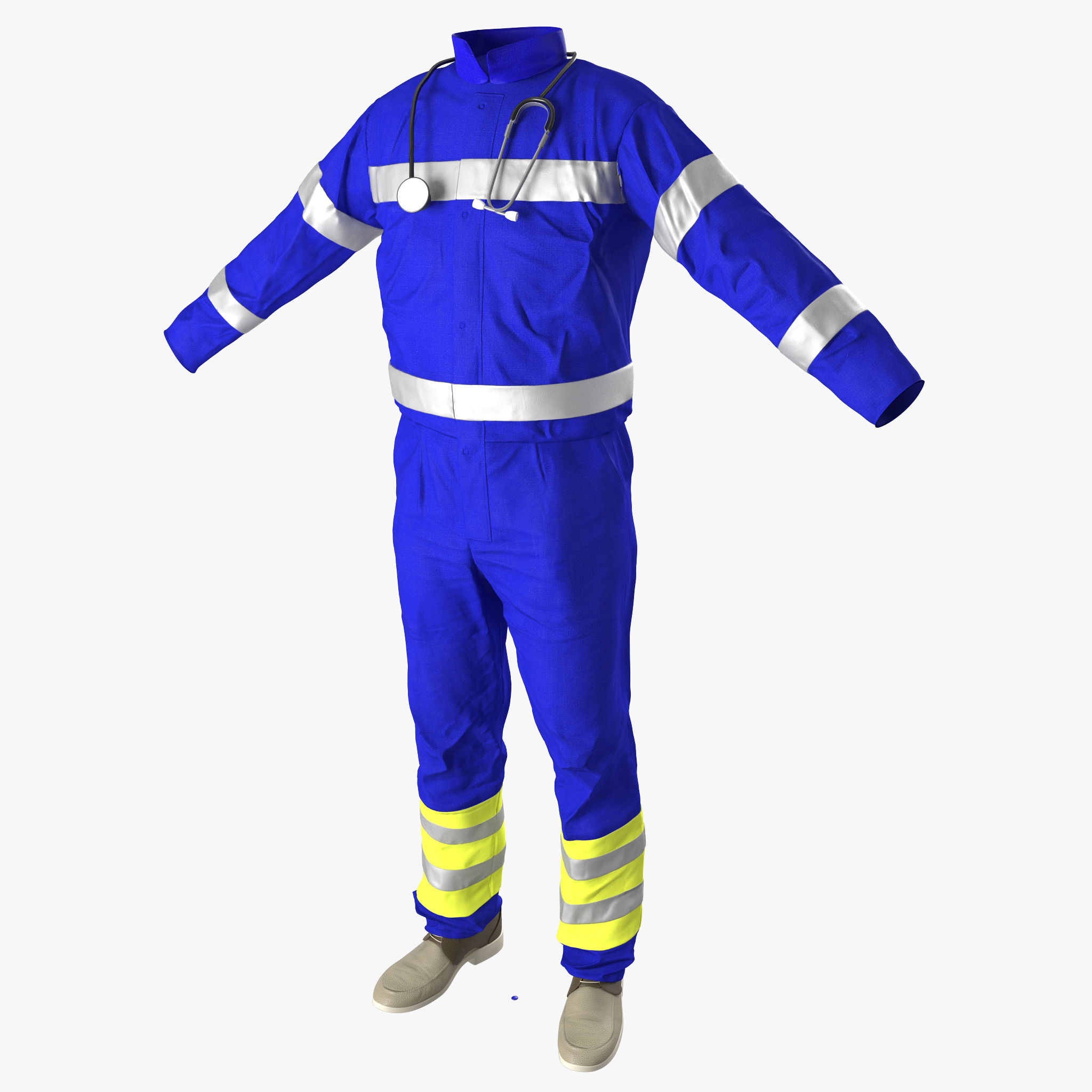 paramedic clothes 3ds