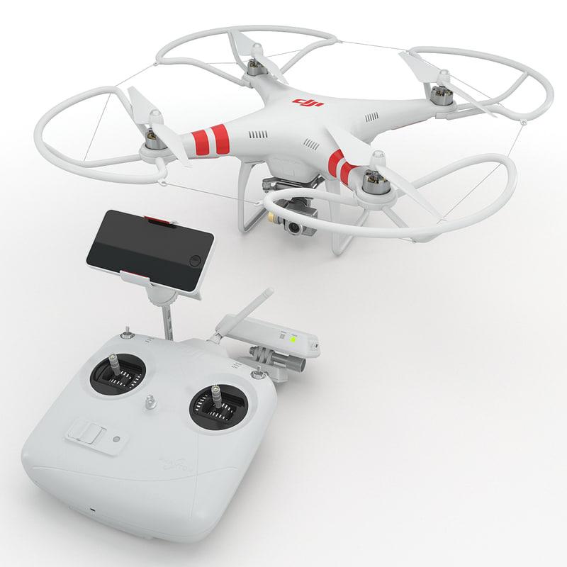 dji phantom 2 quadrocopter max