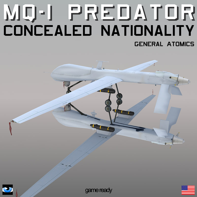 general predator concealed nationality 3d max