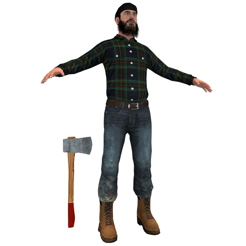 max lumberjack man