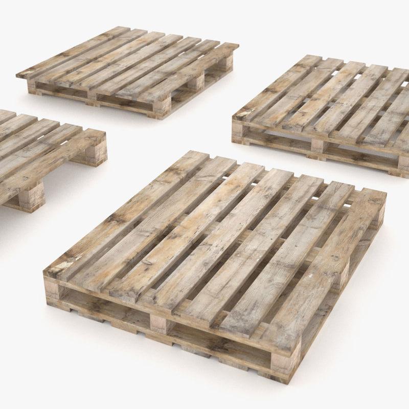 3ds 4 ways pallets -