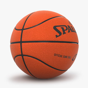 3d model basketball spalding