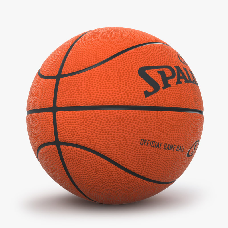 3d model basketball spalding