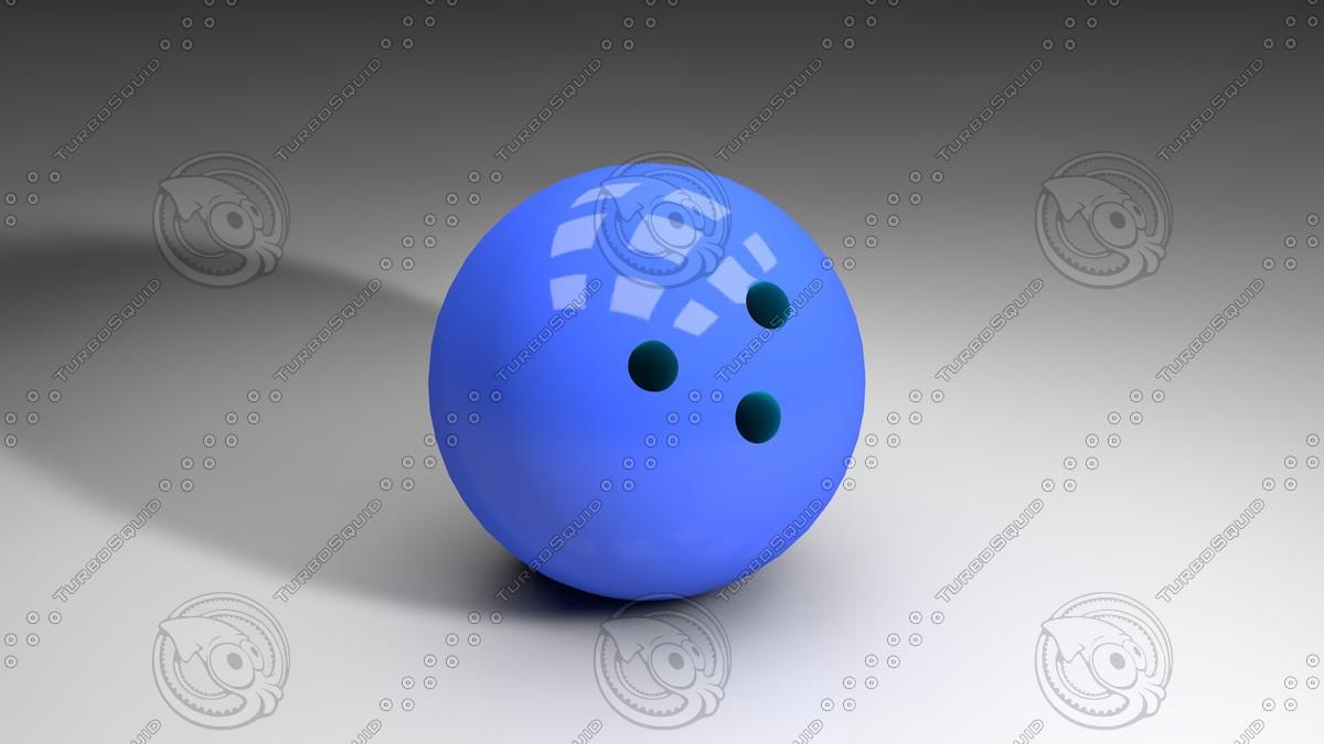 bowling ball c4d