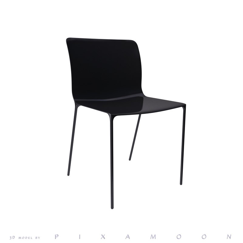 surface chair 3d 3ds