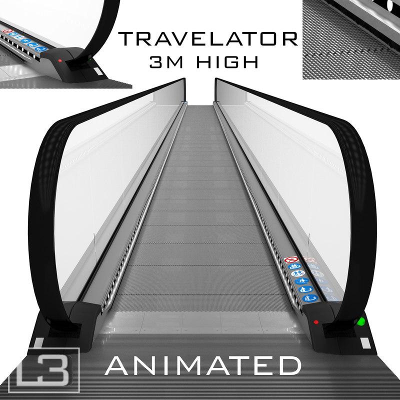 max travelator 3m animation
