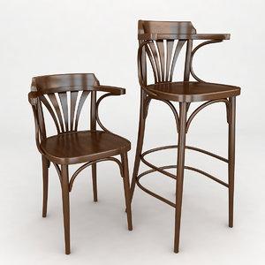 max chair armchair vienna