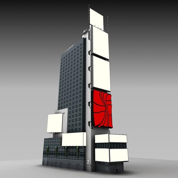 3d model renaissance building