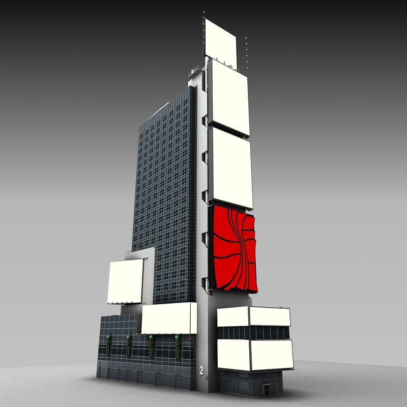 renaissance hotel building 3d max