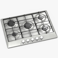 3d model stove kitchen