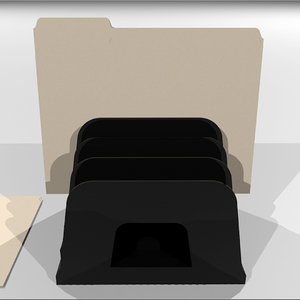 3d manila folder holder