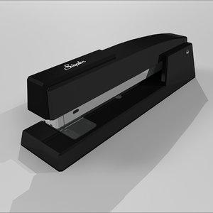 stapler 3d c4d