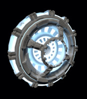 doodad space sci-fi 3d model