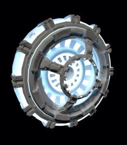 doodad space sci-fi 3d model