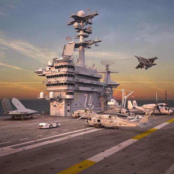 cvn 74 aircraft max
