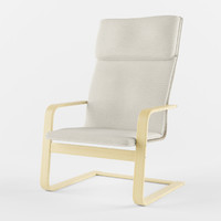 3d model ikea pello armchair