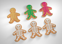 Halloween Gingerbread Man