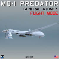 max general mq-1 predator flight