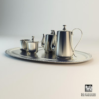 Service Silver Tray Tableware