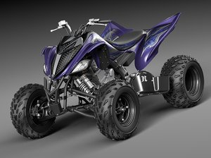 3d model 2014 raptor yamaha